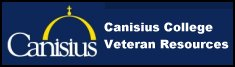 Click to open a Canisius College  Veterans services web page