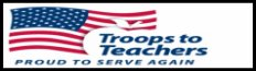 Click to open a Troops to Teachers Veterans services web page